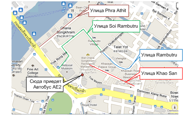 Бангкок улицы